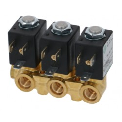 Ventilový 3-blok 2+2+2 - cestný 230V 50Hz
