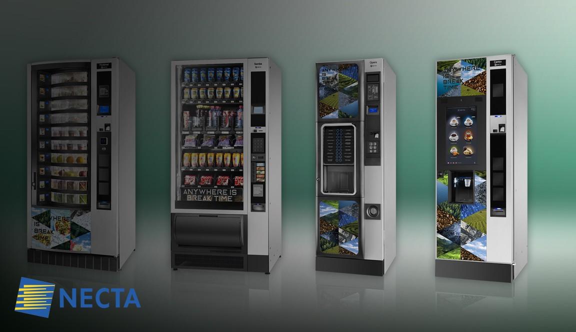 Potravinové a nápojové automaty