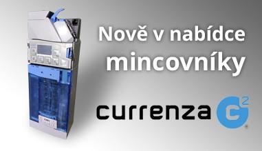 Nově v nabídce káva mincovníky NRI Currenza c2
